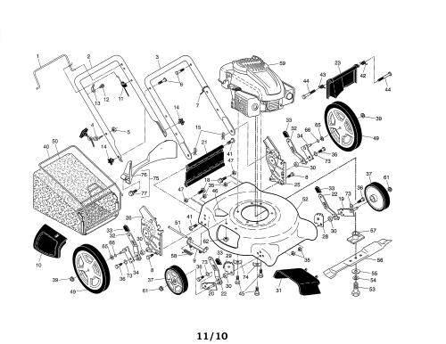 small resolution of looking for ariens model 96136000602 gas walk behind mower repairariens 96136000602 lawn mower diagram