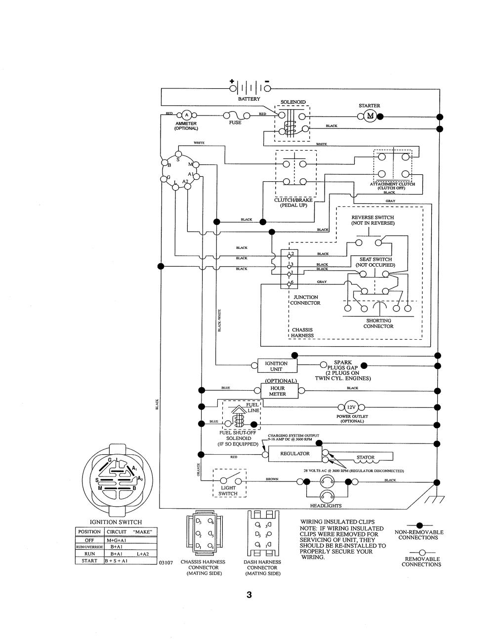 medium resolution of ariens 93603800 schematic diagram diagram