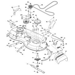 Dixon Lawn Mower Parts Diagram Mtd Wiring Model D22kh46 96046001200 Tractor Genuine