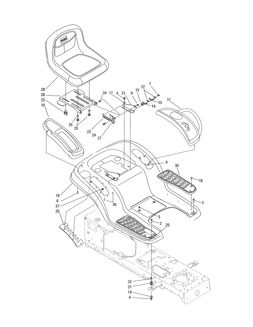 small resolution of lx425 belt diagram