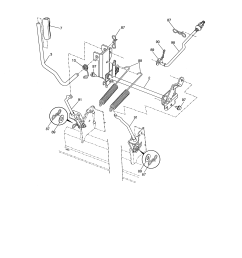 looking for craftsman model 917288611 front engine lawn tractor craftsman steering diagram craftsman 917288611 lift assembly [ 2550 x 3300 Pixel ]