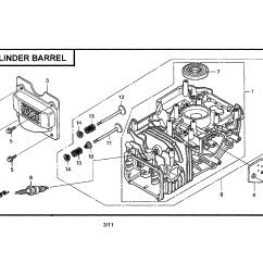 Honda Engine Gcv160 Carburetor Diagram 49cc Parts Model Gcv160laos3a Sears Partsdirect