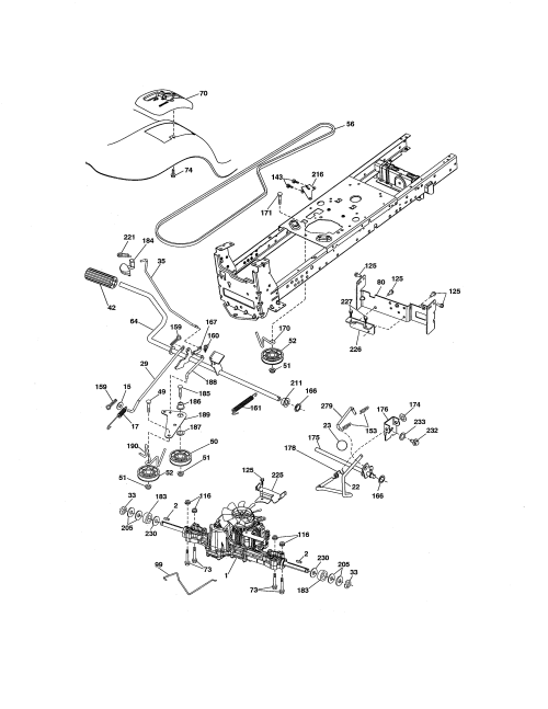 small resolution of  craftsman lawn mower wiring schematic model on