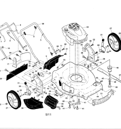 craftsman 917376230 engine housing handle diagram [ 3300 x 2550 Pixel ]