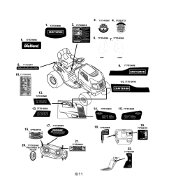 craftsman 247288851 decals diagram [ 2550 x 3300 Pixel ]