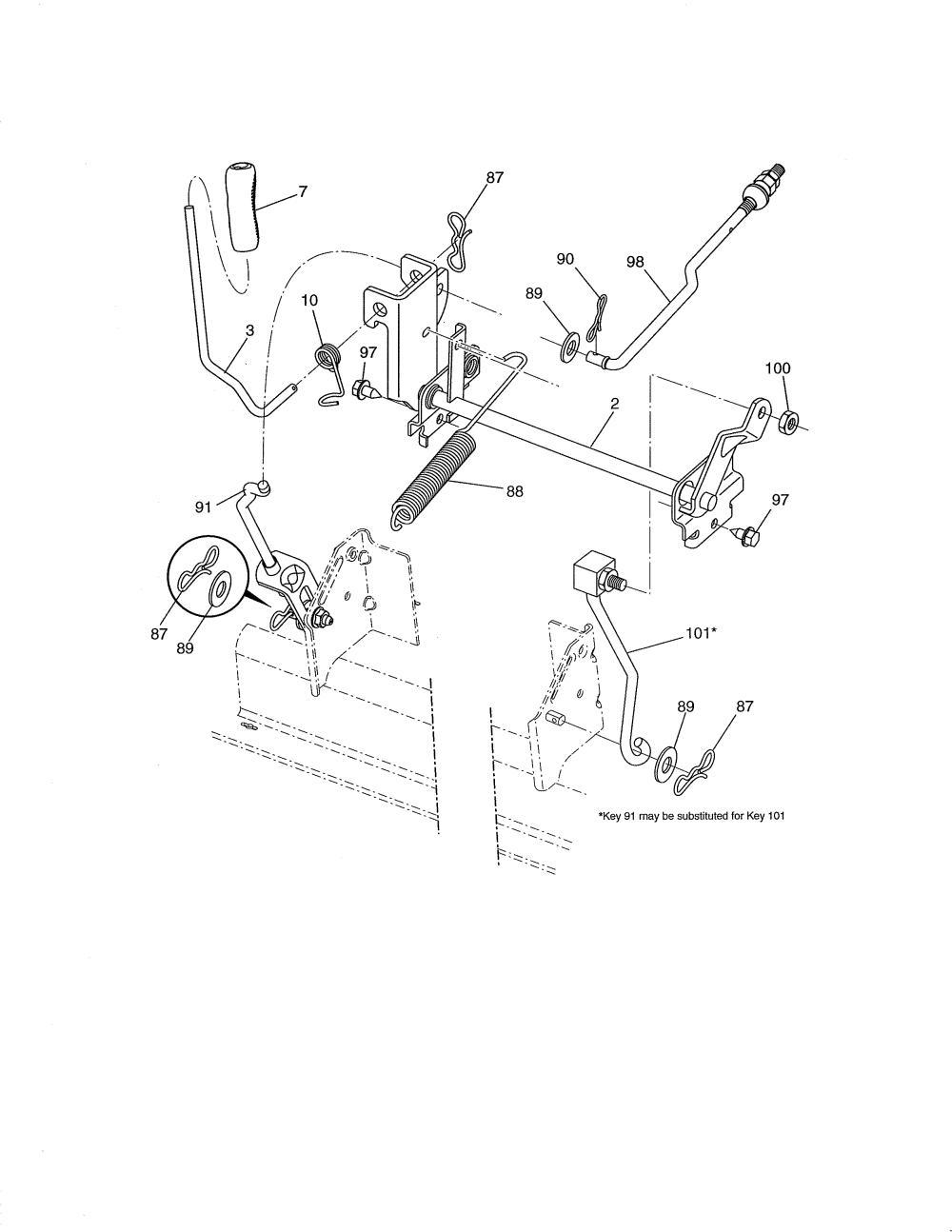 medium resolution of craftsman 917288520 lift diagram
