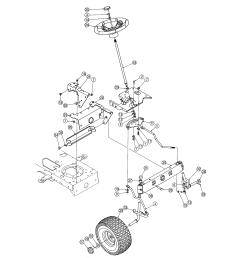 mtd 13ag601h729 steering diagram [ 2550 x 3300 Pixel ]