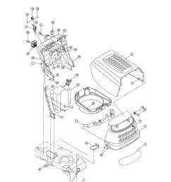 mtd 13ag601h729 hood bumper diagram [ 2550 x 3300 Pixel ]