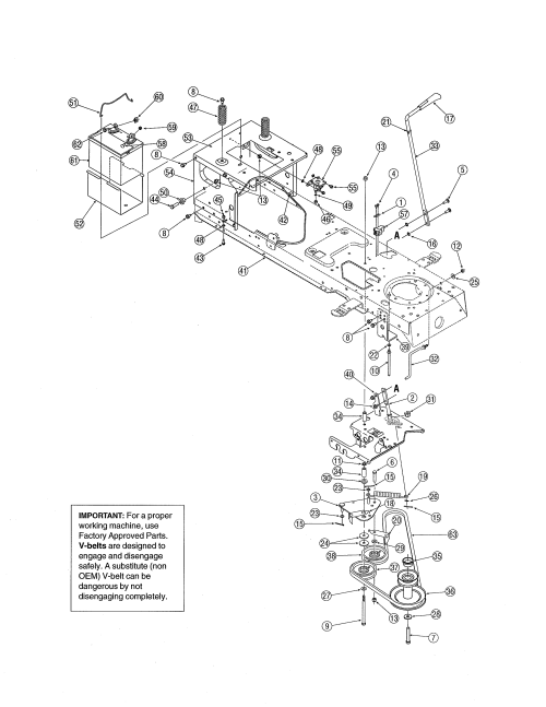 small resolution of mtd 13ag601h729 frame diagram