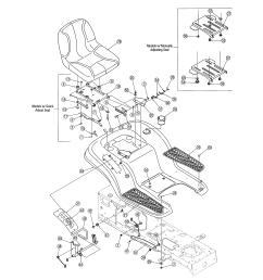 mtd 13ag601h729 seat fender diagram [ 2550 x 3300 Pixel ]