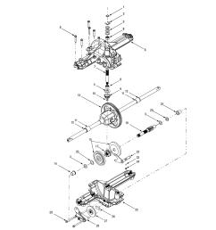 mtd 13ag601h729 transmission diagram [ 2550 x 3300 Pixel ]