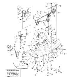 mtd 13ag601h729 deck diagram [ 2550 x 3300 Pixel ]