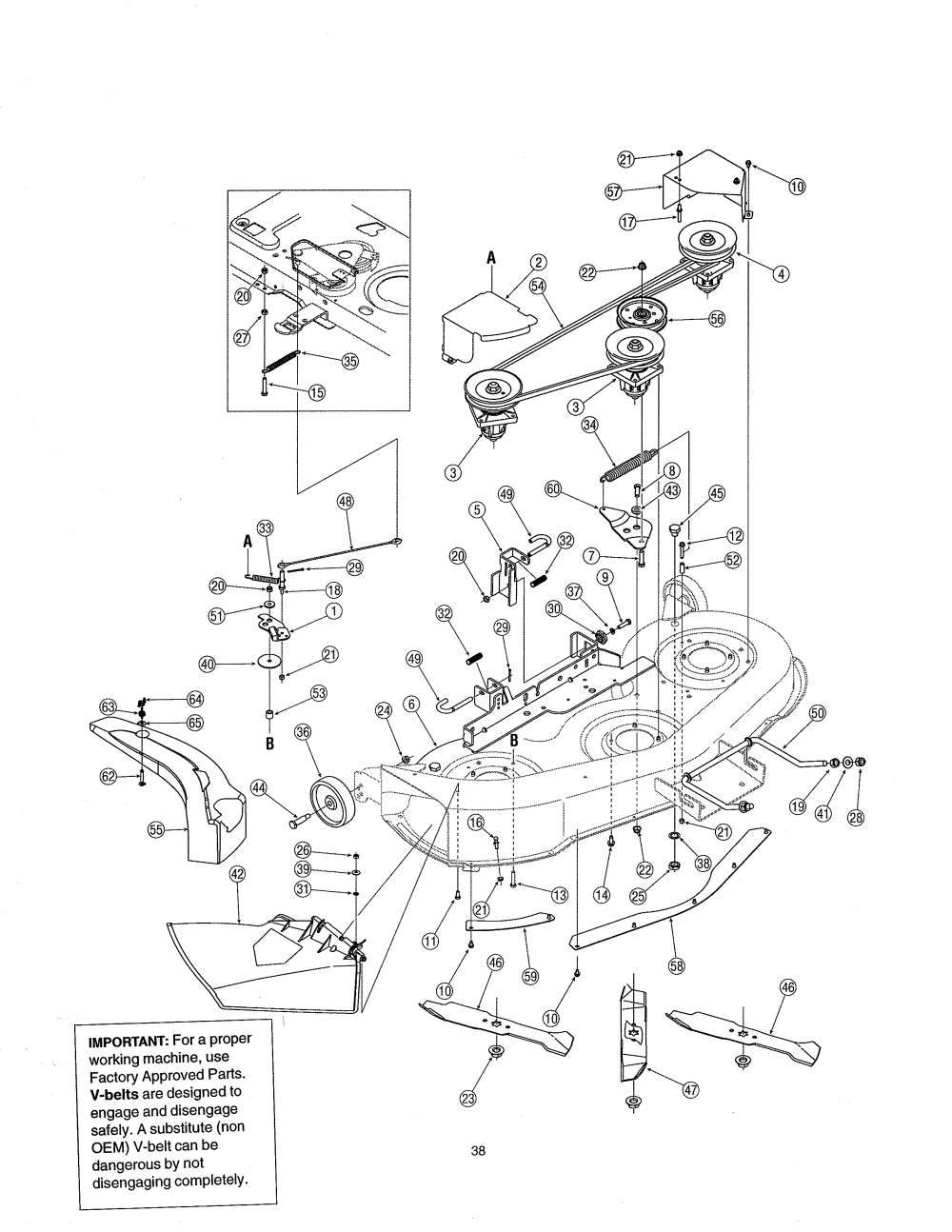 medium resolution of mtd 13ag601h729 deck diagram