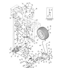 mtd 13al606g730 drive diagram [ 2550 x 3300 Pixel ]