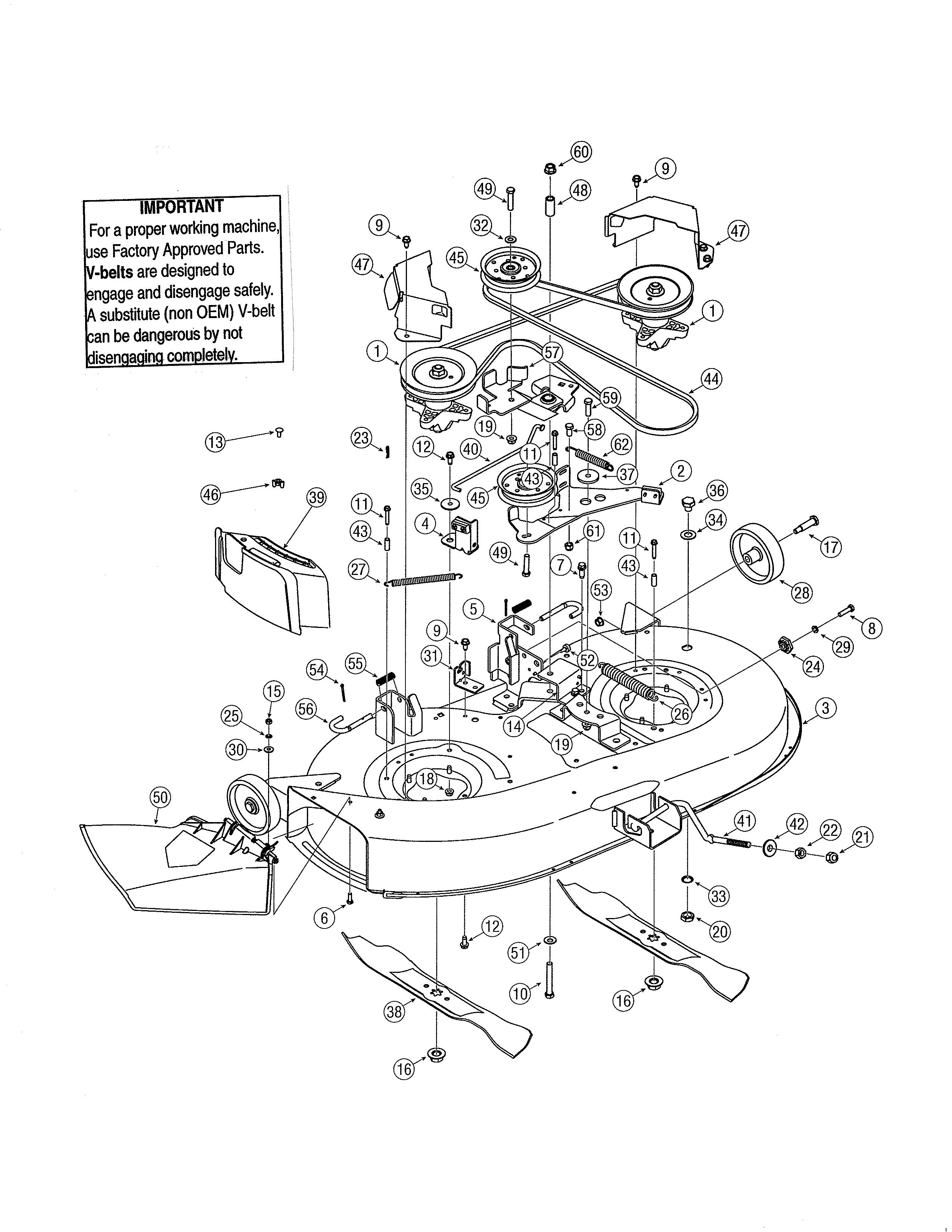 Mtd Yard Machine Snowblower Parts Diagram