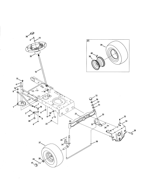 small resolution of craftsman 247288852 steering wheel diagram