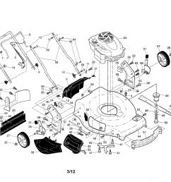 craftsman 917370410 engine housing handle diagram [ 3300 x 2550 Pixel ]