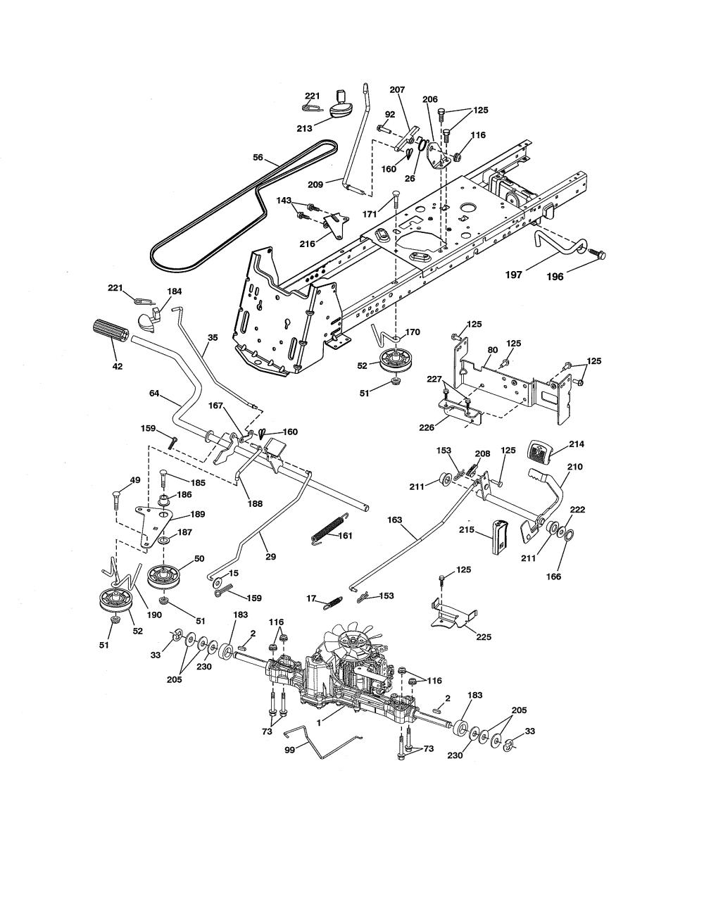 medium resolution of wiring diagram for craftsman 917 276922 riding lawn mower