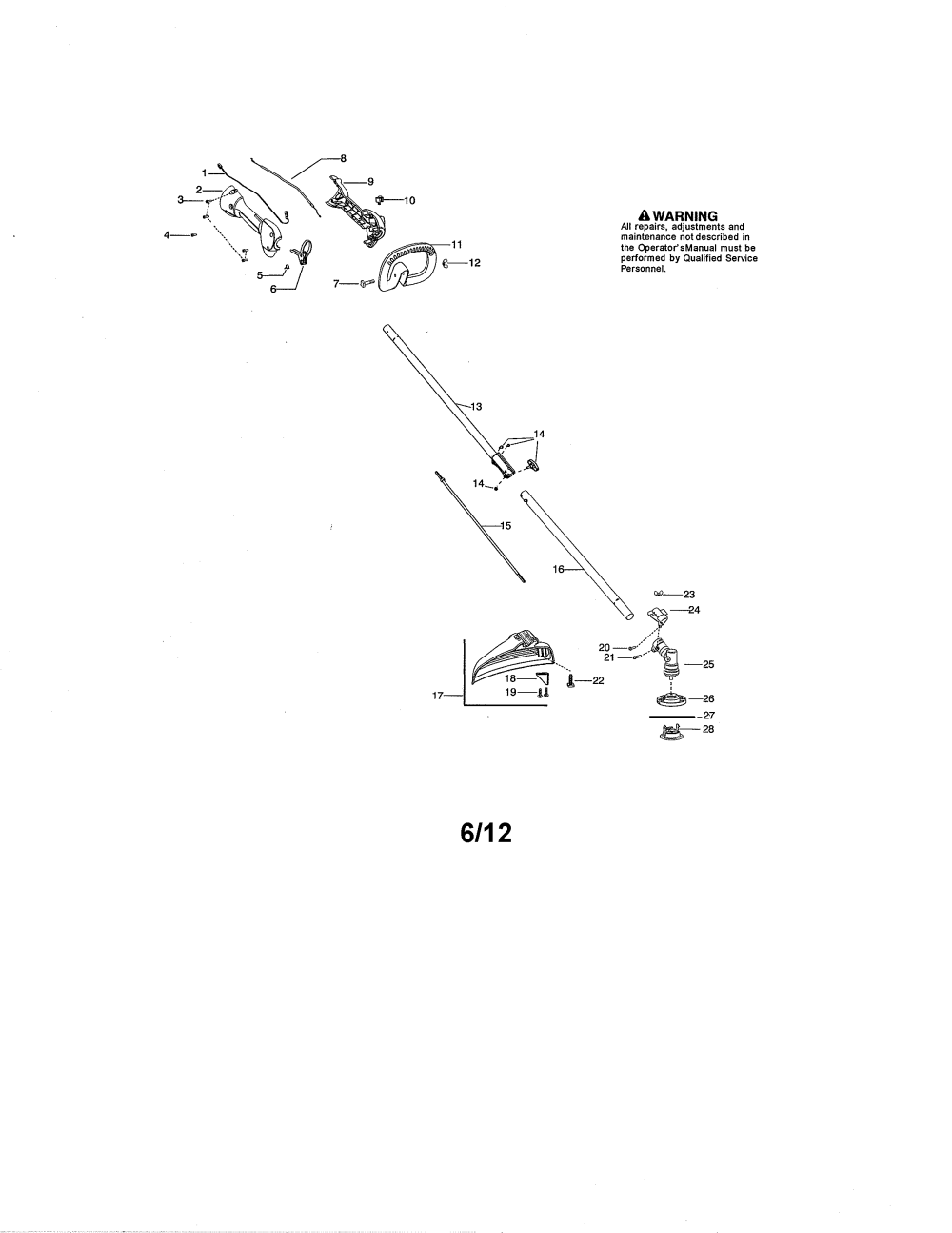 medium resolution of poulan pp335 type 2 drive shaft handle shield diagram