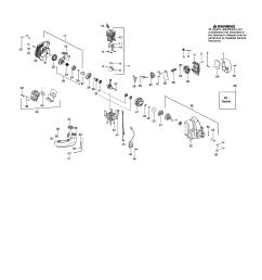 poulan pp335 type 2 cylinder fuel tank muffler diagram [ 2550 x 3300 Pixel ]