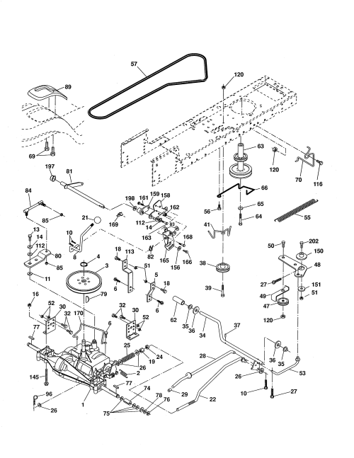 small resolution of ariens 96016002701 drive diagram