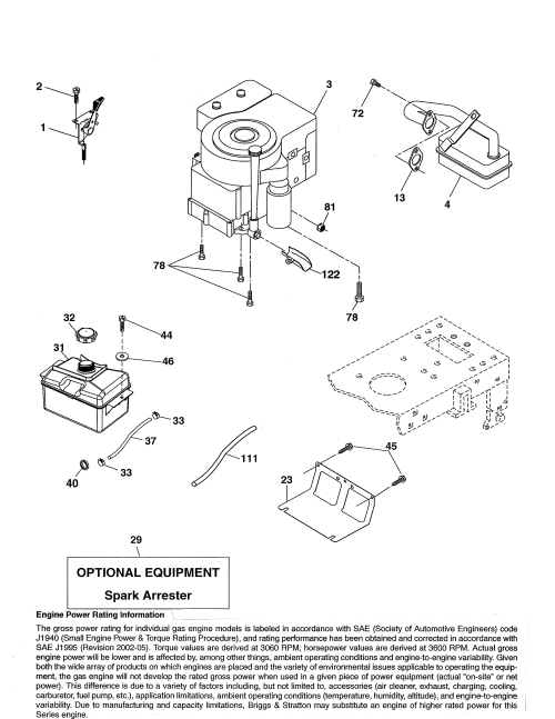 small resolution of ariens 936060 engine diagram