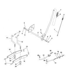 ariens 96016002701 mower lift diagram [ 2550 x 3300 Pixel ]