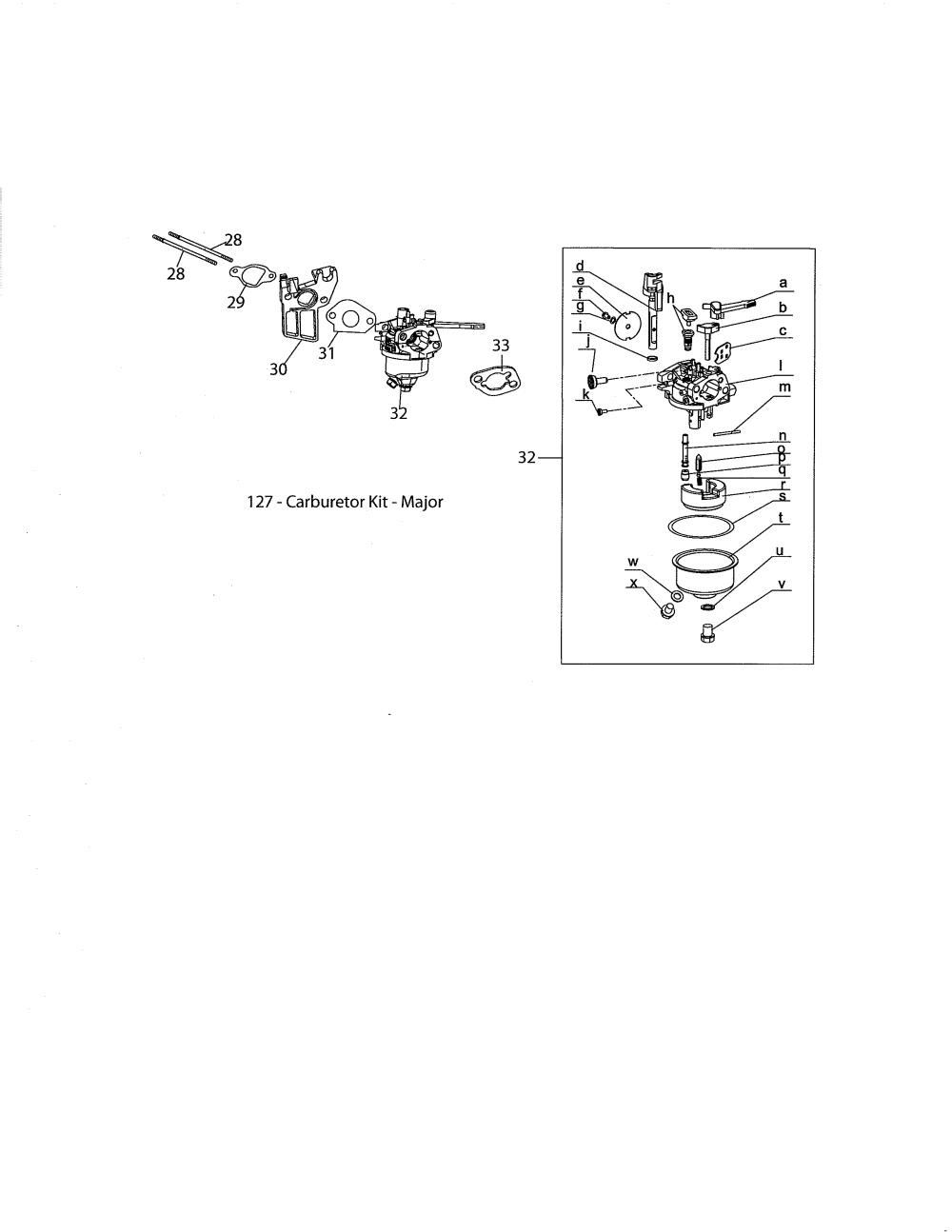 medium resolution of mtd model 170 vu engine genuine parts mtd snowblower engine diagram mtd engine diagram