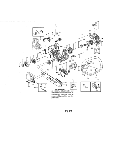 small resolution of craftsman 358341900 chassis bar handle diagram