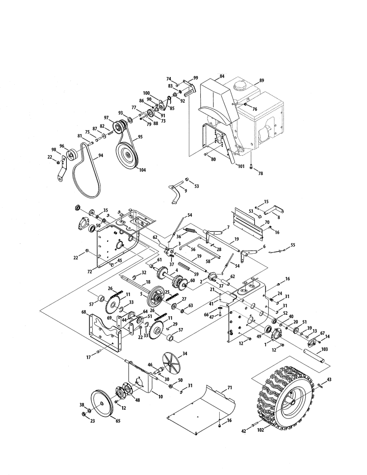 Craftsman Snow Thrower Parts Manual : Get genuine craftsman parts and free manual for model