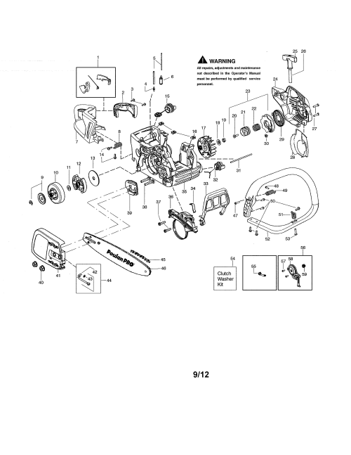 small resolution of poulan chain saw chassis bar handle parts