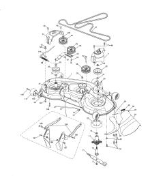 craftsman 917276844 mower deck diagram [ 2550 x 3300 Pixel ]