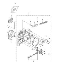 mcculloch cs380 chain brake clutch cover cs 380 diagram [ 2550 x 3300 Pixel ]