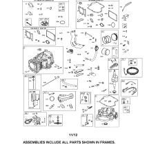 Briggs And Stratton Wiring Diagram 12hp 1982 Corvette 21 Hp Engine Parts Best Site