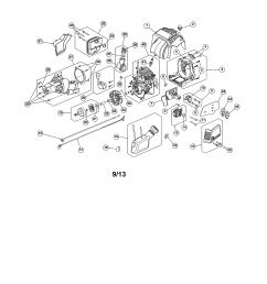 craftsman 316731700 starter housing fuel tank diagram [ 2550 x 3300 Pixel ]