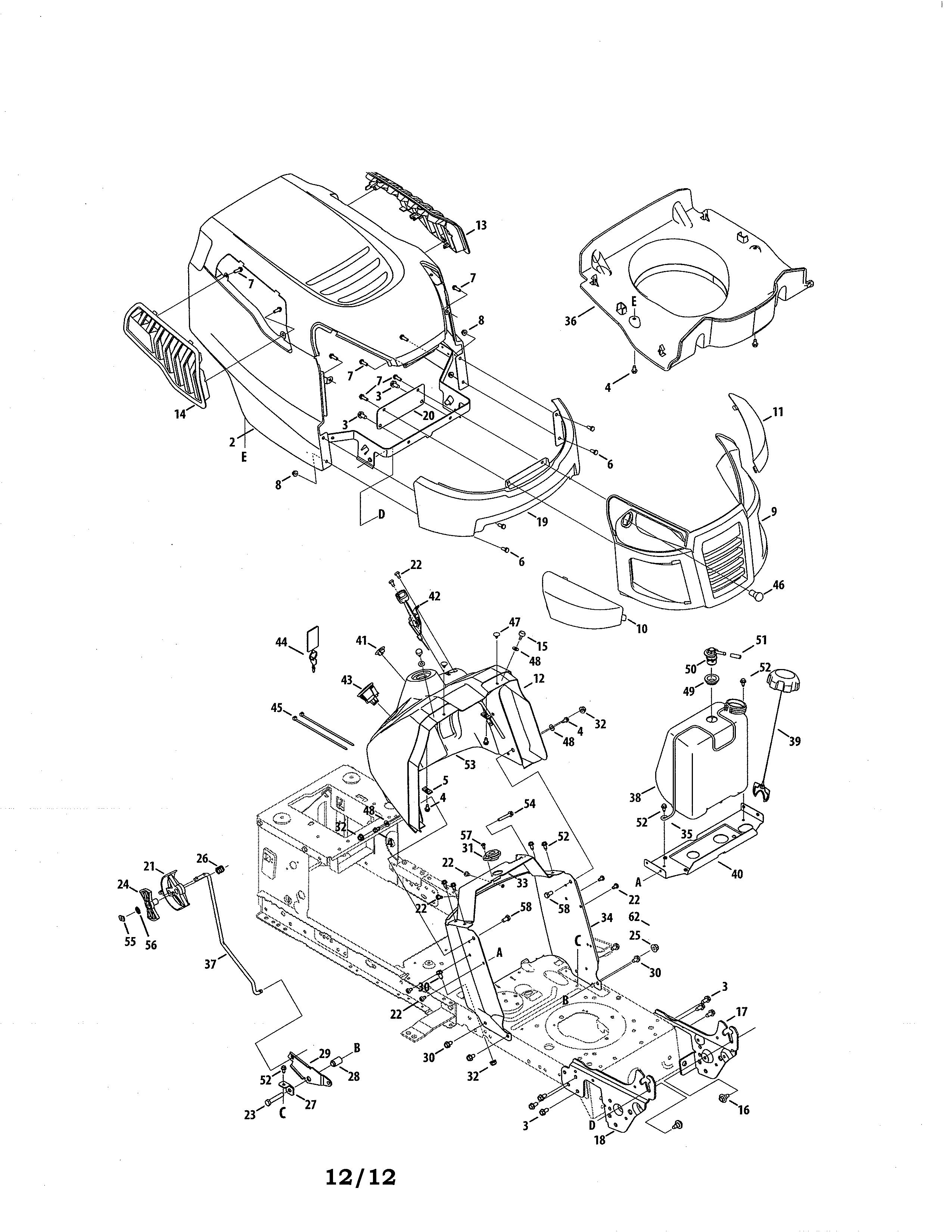 Craftsman model 247288820 lawn tractor genuine parts predator 420cc engine wiring diagram 420cc engine diagram