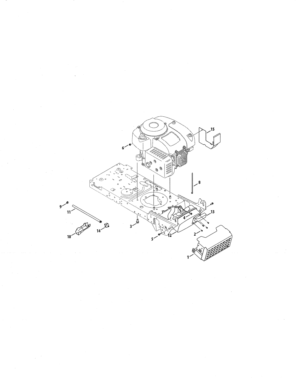 medium resolution of craftsman 247288820 4p90hu engine muffler diagram
