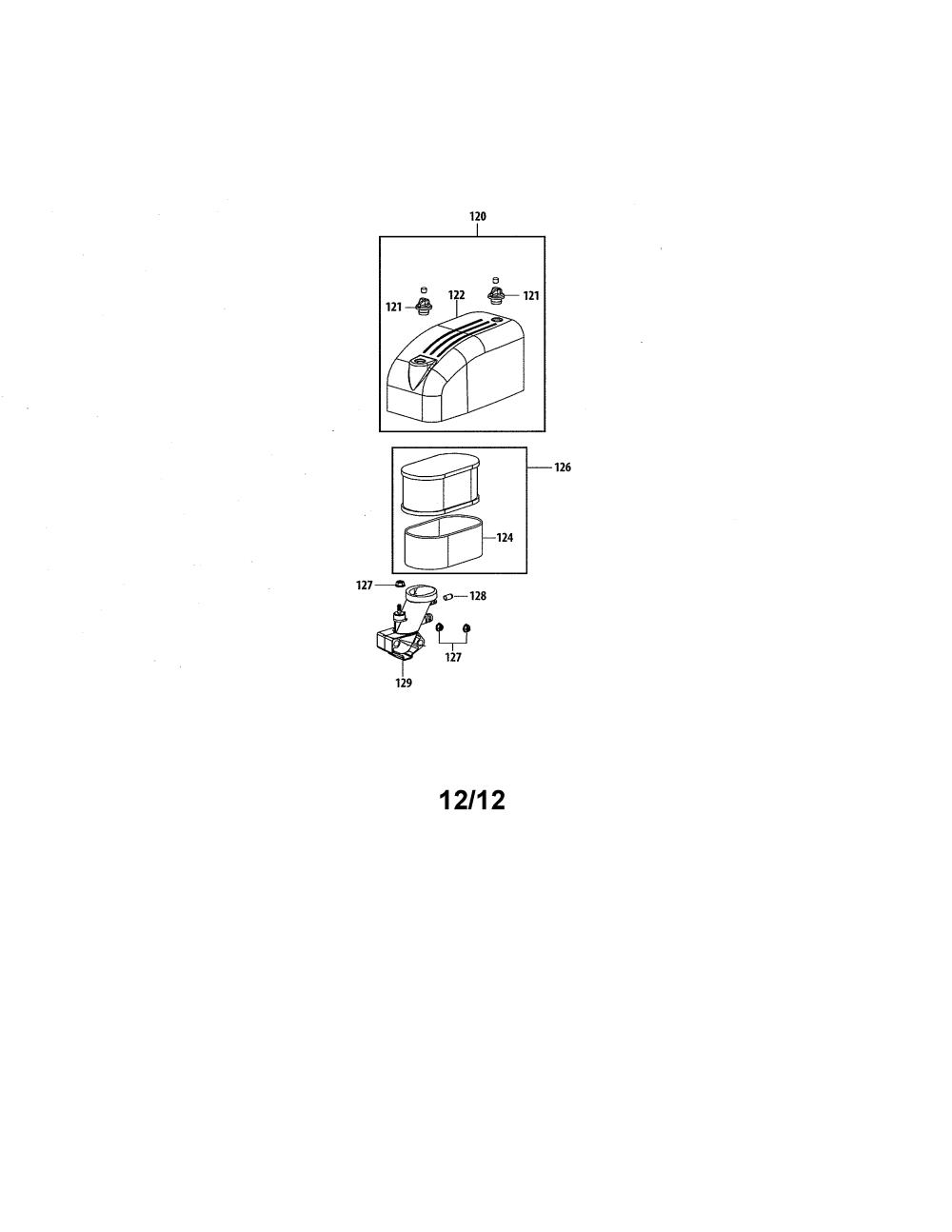 medium resolution of mtd 4p90hu air filter manifold diagram