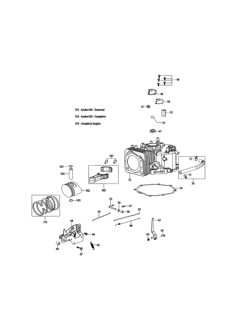 small resolution of mtd 4p90hu short block diagram