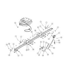 Genie Garage Door Parts Diagram Polaris 280 Pool Cleaner For Excelerator Opener Dandk