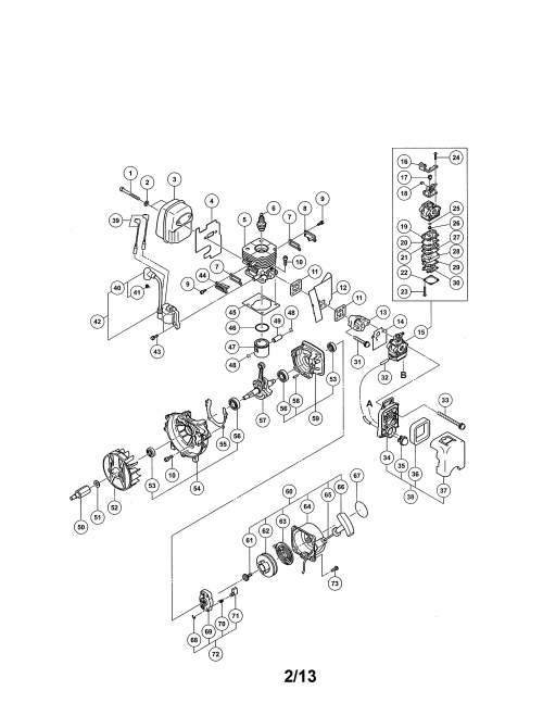 small resolution of hitachi rb24eap cylinder carburetor diagram