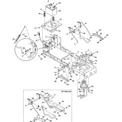 Mtd Yard Machine Parts Diagram Jacuzzi Tub Wiring Model 13a0785t055 Lawn Tractor Genuine