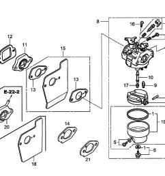 honda gcv190 labhh carburetor diagram [ 3300 x 2550 Pixel ]