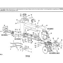 Capacitor Start Motor Wiring Diagram Craftsman Christmas Origami Flower Model 315220100 Saw Radial Genuine Parts