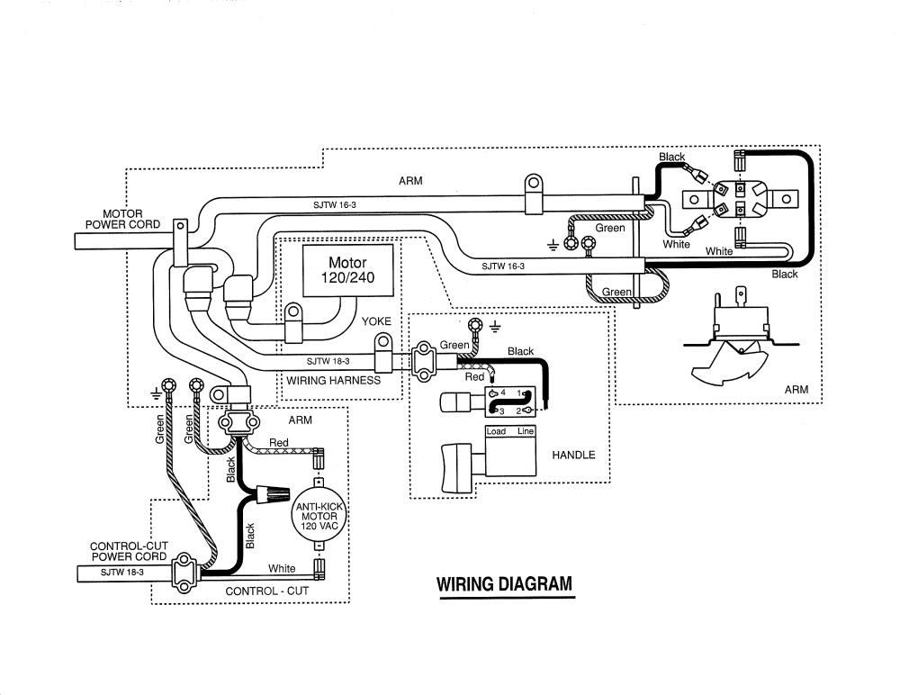 medium resolution of craftsman 315220100 wiring diagram diagram
