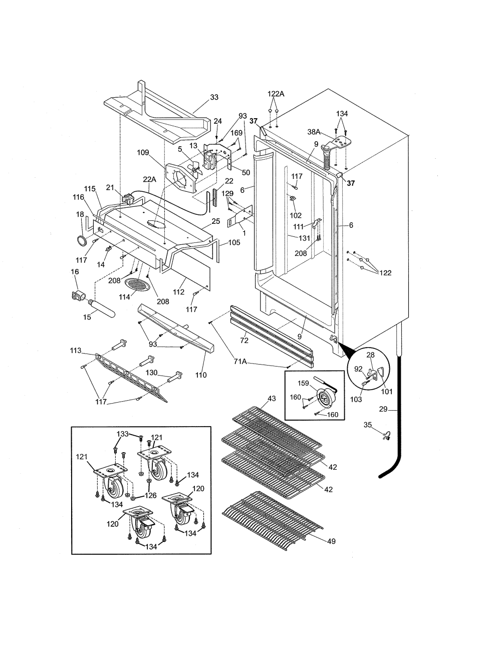 medium resolution of kelvinator refrigerator wiring diagram