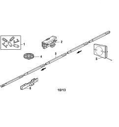 craftsman 13953930dm rail assembly diagram [ 3300 x 2550 Pixel ]