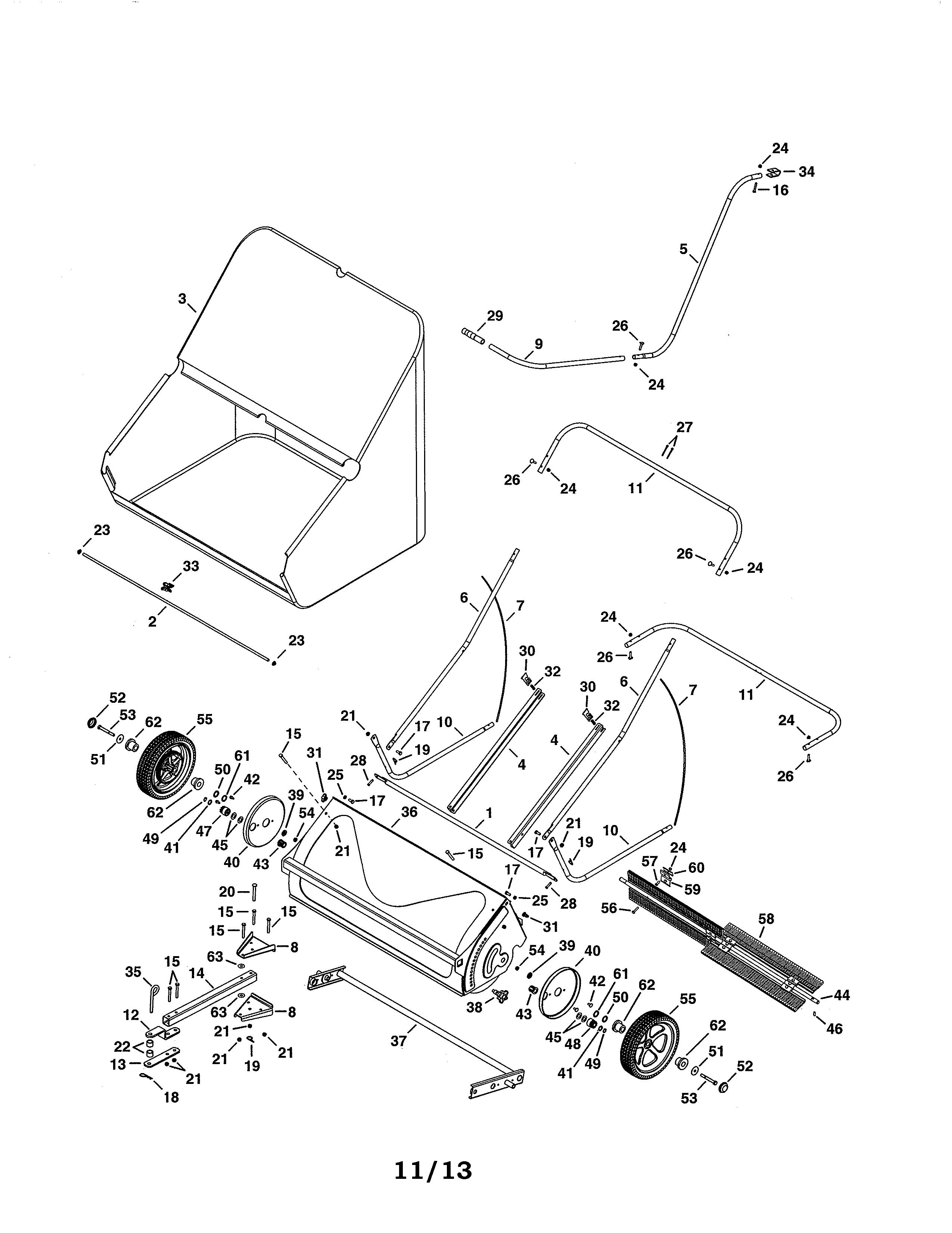 Vacuum Parts: Agri Fab Lawn Vacuum Parts