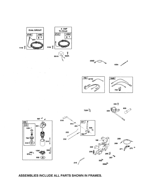 small resolution of briggs stratton 33r877 0003 g1 motor starter alternator diagram