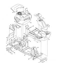 craftsman 247290001 fender frame diagram [ 2550 x 3300 Pixel ]